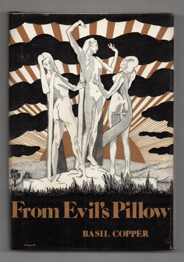 From Evil's Pillow by Basil Copper (Signed) First Edition