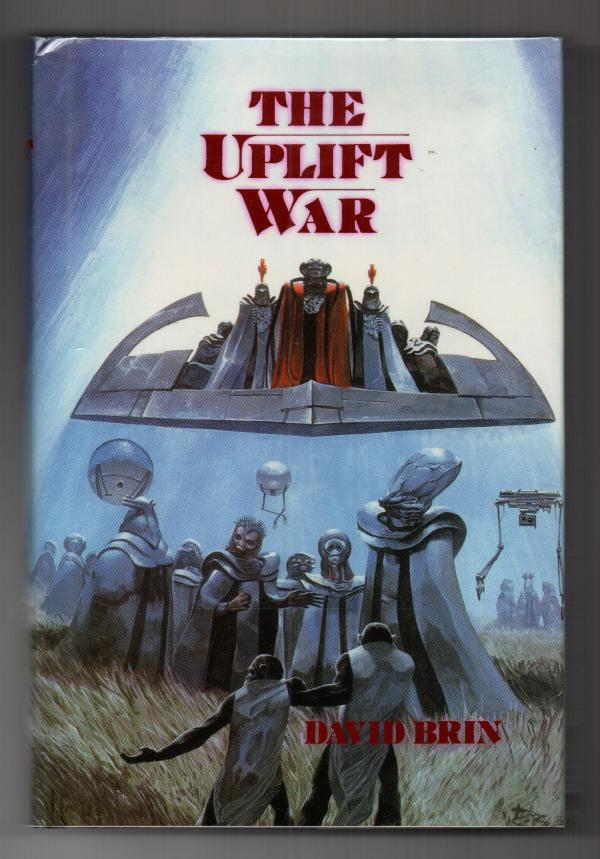 The Uplift War by David Brin Hugo Award Winner