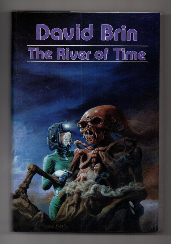 The River of Time by David Brin Signed 1st Edition