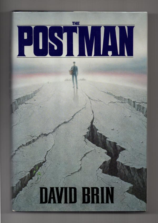 The Postman by David Brin Signed 1st Edition