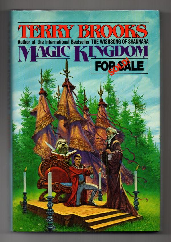 Magic Kingdom For Sale - Sold! by Terry Brooks Signed