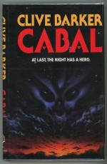 Cabal: At Last, The Night Has a Hero by Clive Barker Signed