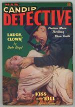 Candid Detective Mar 1939 GG Photo Cover; Robert Leslie Bellem